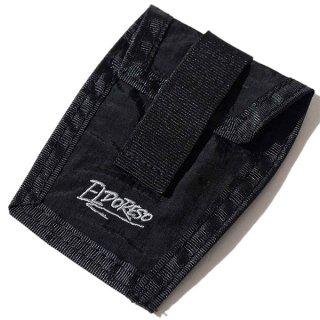 ELDORESO(エルドレッソ) Shoe Pouch(Black) E8900111 シューレースに装着して使用するナイロン素材のポーチ