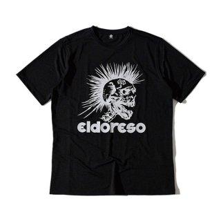 ELDORESO(エルドレッソ) Mohawk Wide T(Black) E1006111 メンズ・レディース ドライ半袖Tシャツ