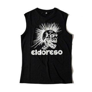 ELDORESO(エルドレッソ) Mohawk Sleeveless(Black) E1204611 メンズ・レディース ドライ ノースリーブシャツ・タンクトップ