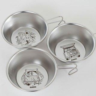 ReKNOT リノット SIERRA CUP シェラカップ RKN101【ステンレス 食器 コップ 調理器具 直火 BBQ バーベキュー キャンプ アウトドア ギア】