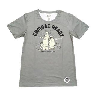 IN THE WOODS(イン ザ ウッズ) グラとベルの銭湯態勢 COMBAT READY〜夏の陣〜けっこうすぐ乾くTシャツ メンズ・レディース 半袖Tシャツ