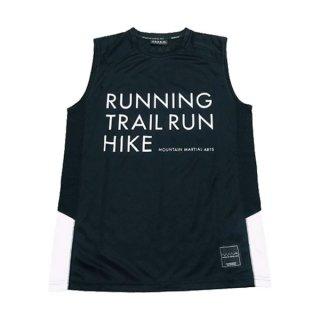 MMA マウンテンマーシャルアーツ MMA RUN TRAILRUN HYKE Sleeve-less メンズ ノースリーブシャツ