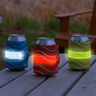 NITE-IZE ナイトアイズ SLAPLIT LED DRINK WRAP(スラップリット LEDドリンクラップ) 保温保冷可能な光るドリンクカバー【BBQ ソロキャンプ アウトドア】