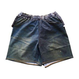 MMA マウンテンマーシャルアーツ MMA×ranor Denim Run Pants メンズ レディース ショートパンツ