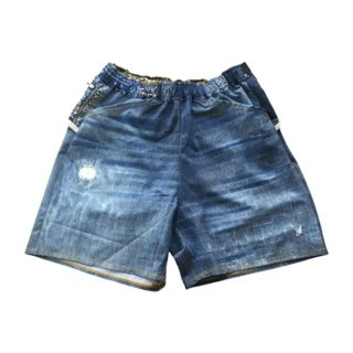 MMA マウンテンマーシャルアーツ MMA×ranor Denim Run Pants メンズ・レディース ショートパンツ