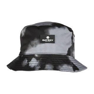 SAYSKY(セイスカイ) Cumulus Bucket Hat - BLACK / CUMULUS PRINT メンズ・レディース リバーシブル ハット