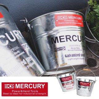 MERCURY マーキュリー ブリキバケツ スモール【MCR BBQ ソロキャンプ キャンプ用品 アウトドア用品】