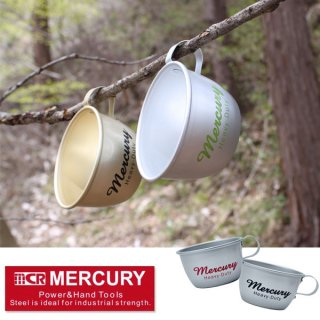 MERCURY マーキュリー アルミマグカップ【MCR BBQ ソロキャンプ キャンプ用品 アウトドア用品】