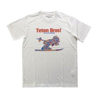 Teton Bros ティートンブロス TB Ski World Tee メンズ 半袖Tシャツ