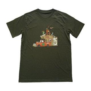 Teton Bros ティートンブロス TB Ski Bum Tee メンズ 半袖Tシャツ