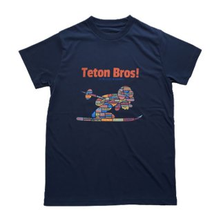 Teton Bros ティートンブロス WS TB Ski World Tee レディース 半袖Tシャツ