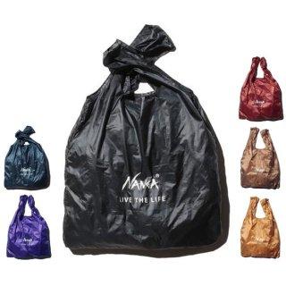 NANGA ナンガ メンズ レディース POCKETABLE ECO BAG(LIVE THE LIFE) ポケッタブルエコバッグ【男性 女性】