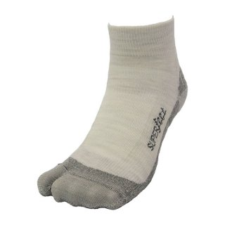 SUPERfeet(スーパーフィート) SF-V-SOX SHORT (Vソックス ショート) メンズ・レディース ファインメリノウール使用の足袋型 ショートソック