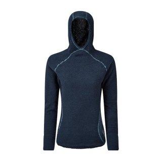 OMM オリジナルマウンテンマラソン Core+ Hoodie (W) レディース フード付き長袖シャツ