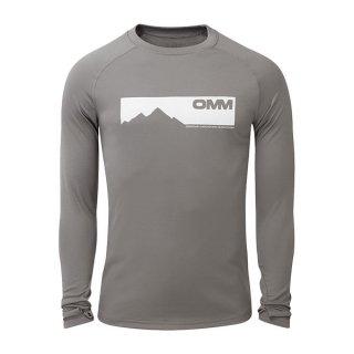 OMM オリジナルマウンテンマラソン Bearing Tee L/S メンズ ドライ長袖シャツ