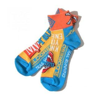 ELDORESO(エルドレッソ) My Pace Socks(Yellow) E7602021 メンズ・レディース ランニングソックス