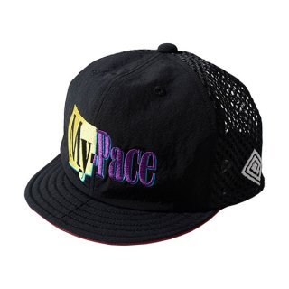 ELDORESO(エルドレッソ) My Pace Cap(Black) E7007321 メンズ・レディース ランニング メッシュキャップ