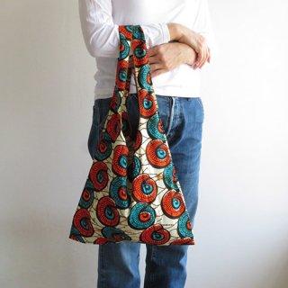 アフリカ布のショッパーM
