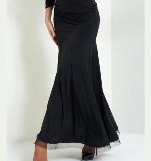 ナンシーロングスカート ブラック