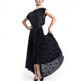 チェルナーロングドレス ブラック