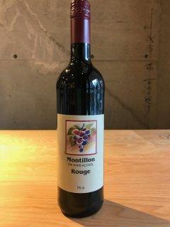 モンティヨン・ルージュ-ノンアルコールワイン・赤(Montillon Rouge)
