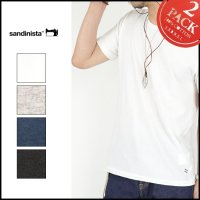 SANDINISTA(サンディニスタ)<br>Cadet C/N Tee - 2 Packs / 半袖クルーネックT(2枚パック)