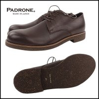 PADRONE(パドローネ)<br>DERBY PLAIN TOE SHOES WATER PROOF LEATHER / JACK�(ダービープレーントゥシューズ 防水レザー)
