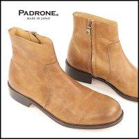 PADRONE(パドローネ)<br>SIDE ZIP BOOTS / RAUL(サイドジップブーツ)