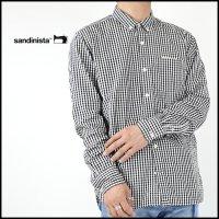 SANDINISTA(サンディニスタ)<br>Standard Gingham B.D. Shirt(スタンダードギンガムチェックBDシャツ)