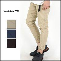 SANDINISTA(サンディニスタ)<br>B.C.Chino Stretch Pants Tapard(テーパードストレッチチノ)