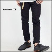 SANDINISTA(サンディニスタ)<br>B.C. Black Stretch Denim Pants - Skinny(ブラックスキニーデニムパンツ)