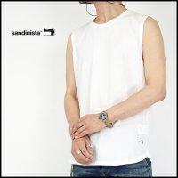 SANDINISTA(サンディニスタ)<br>Caset Sleeveless Tee(ノースリーブTシャツ)
