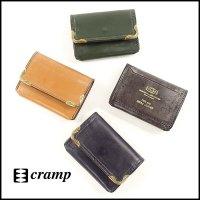 Cramp(クランプ)<br>UKブライドルレザーサイド金具ギャルソンコインケース
