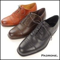 PADRONE(パドローネ)<br>BALMORAL SHOES(ストレートチップシューズ)