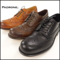 PADRONE(パドローネ)<br>WING TIP SHOES(ウイングチップシューズ)