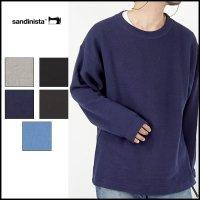 SANDINISTA(サンディニスタ)<br>Easy Fit Cotton Knit Top(イージーコットンニット)