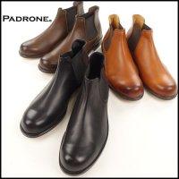 PADRONE(パドローネ)<br>SIDE GORE BOOTS(サイドゴアブーツ)