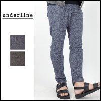underline(アンダーライン)<br>Moku Sweat Pants(杢スウェットパンツ)