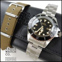 VAGUE WATCH CO.(ヴァーグウォッチカンパニー)<br>DIVER'S SON SS(ダイバーズサンステンレスベルト)