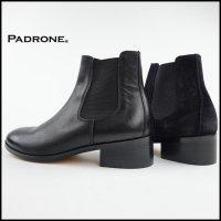 PADRONE(パドローネ)<br>BL SIDE GORE BOOTS(サイドゴアヒールブーツ)