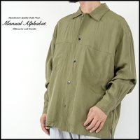 MANUAL ALPHABET(マニュアルアルファベット)<br>FATIGUE SHIRT(ファティーグシャツ)