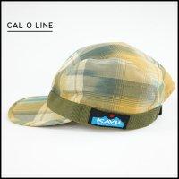 CAL O LINE(キャルオーライン)<br>MADRAS STRAP CAP(マドラスストラップキャップ)