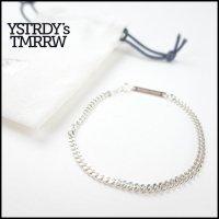 YSTRDY'S TMRRW(イエスタデイズトゥモロー)<br>925 CURVE BRACELET by END(カーブチェーンブレスレット)