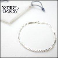 YSTRDY'S TMRRW(イエスタデイズトゥモロー)<br>925 VENETIAN BRACELET by END(ベネチアンシルバーブレスレット)