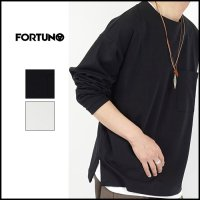 <img class='new_mark_img1' src='https://img.shop-pro.jp/img/new/icons6.gif' style='border:none;display:inline;margin:0px;padding:0px;width:auto;' />FORTUNA HOMME(フォルトゥナ オム)<br>HighGauge PontiLong T(ハイゲージロングスリーブT)
