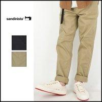 SANDINISTA(サンディニスタ)<br>B.C.Chino Stretch Pants Straight(ストレートストレッチチノ)