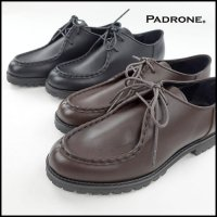 PADRONE(パドローネ)<br>TYROLEAN SHOES WATER PROOF LEATHER(防水レザーチロリアンシューズ)