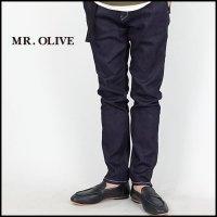 MR.OLIVE(ミスターオリーブ)<br>ONE WASH STRETCH SLIM DENIM PANTS(スーパーストレッチスリムデニムワンウオッシュ)