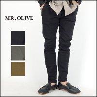 MR.OLIVE(ミスターオリーブ)<br>ONE WASH STRETCH SILICON DYED SLIM DENIM PANTS(スーパーストレッチスリムデニムシリコンダイ)