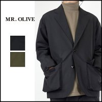 <img class='new_mark_img1' src='https://img.shop-pro.jp/img/new/icons6.gif' style='border:none;display:inline;margin:0px;padding:0px;width:auto;' />MR.OLIVE(ミスターオリーブ)<br>WATER PROOF ACTIVITY LAPELED JACKET(ウォータープルーフアクティブティラペルジャケット)